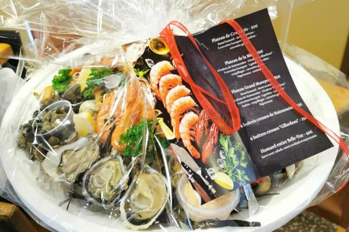 Des fruits de mer pour les fêtes !