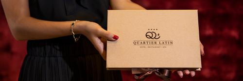 Pamper your friends and family with a Quartier Latin gift!
