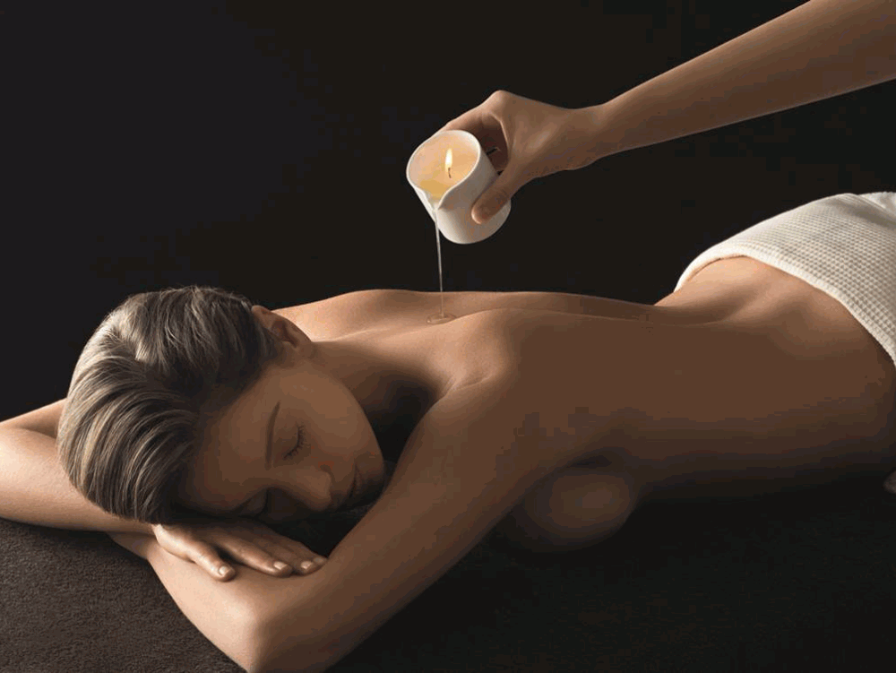 Massage à la bougie